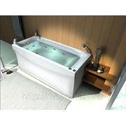 Гидромассажная ванна Акватек Альфа 150х70 фото