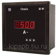 Амперметр цифровой Omix P94-A-1-0.5, P44-A-1-1.0, P77-A-1-1.0, P99-A-1-1.0, P1212-A-1-1.0 фото