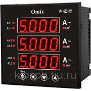 Амперметр цифровой Omix P99-AX-3-0.5-3K фото