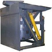 Индукционная плавильная печь типа ИЧТ-2,5/1. Для плавки и перегрева чугуна. Ёмкость 2,5т. фото