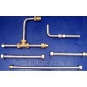 Сильфонные нержавеющие подводки для воды, пара и газа любой длины. фото