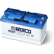 Аккумулятор MUTLU 55 Ач BLUE залит прям/полярн фото
