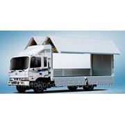 HYUNDAI HD 120 бабочка грузовой фургон с гидробортами фото