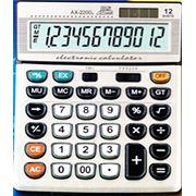 Калькулятор АХ-2200 фото