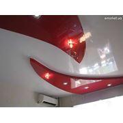 Натяжные потолки из гипсокартона фото
