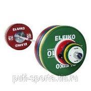 Комплект штанги Eleiko Olympic для соревнований: 190 кг.IWF фото
