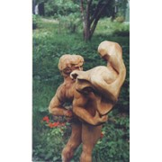 Скульптуры из дерева фото
