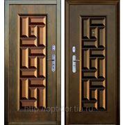 Дверь металлическая Форпост 223МС Комбинированная усиленная(автомат) 180 градусов фото
