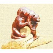 Парковая скульптура Медведи фото