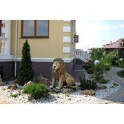 Скульптуры скамейки садовые из бетона фото