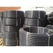 Трубы ПНД для водоснабжения диаметром 20мм полиэтиленовая ПЭ фото
