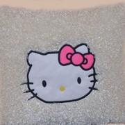 Подушка декоративная Китти кудрявая фото