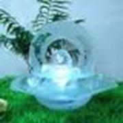 Стеклянные фонтаны фото