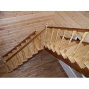 Лестницы из дерева на заказ в Калуге фото
