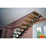 Прямые лестницы на косоуре фото