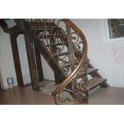 Кованые ограждения лестниц балконов фото