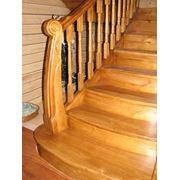 Недорогие лестницы из сосны