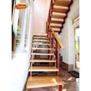 Прямые лестницы на больцах фото