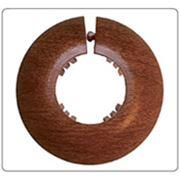 Обвод для труб «Идеал» предназначен для декорирования стыка трубы с полом стеной или потолком. фото