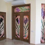 Двери деревянные, производство компании фото
