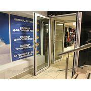 Противопожарные двери светопрозрачные EiW15-60 фото