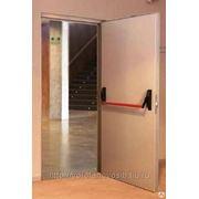 Дверь Противопожарная Антипаника фото