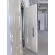 Дверь противопожарная EI-60 с накладной металлофиленкой фото
