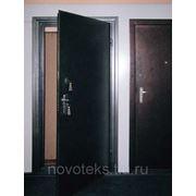 Металлическая утепленная дверь одностворчатая 890 х 2130 фото