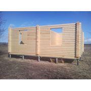 Винтовые сваи. Для фундаментов срубов деревянных домов. фото