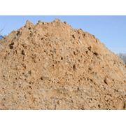Песок. Песок карьерный. фото