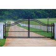 Решетчатые ворота калитки и секции для забора. фото