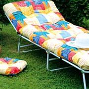 Раскладушки с тканевым спальным местом КР - 1 (С 232 - 43) Кровать раскладушка. фото