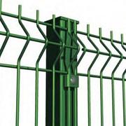 Металлические панельные сварные ограждения, ворота, калитки фото