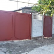 Ворота, калитки. Металлоизделия. фото
