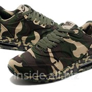 Кроссовки Nike Air Max 1 France SP Camouflage Army Green Black фото