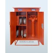 Шкаф для хранения пожарной колонки фото