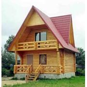 Дом сруб деревянный фото
