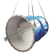 Клапан обратный пылегазовоздухопровода фото
