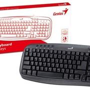 Клавиатура Genius KB-M200 Black, PS/2 фото