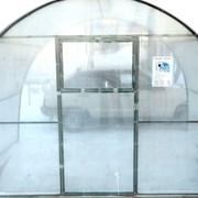 Теплица Стальная Оцинкованная стандарт с сотовым поликарбонатом 6м фото