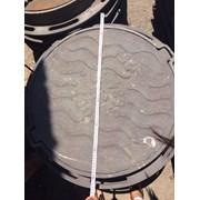 Люк чугунный канализационный тип С вес 80 кг фото