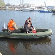 рыбалка на лодке риб