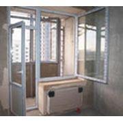 Балконные двери фото