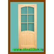 Деревянные двери для дачи фото