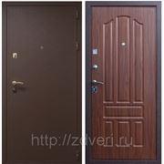 Дверь металлическая, 3-х контурная, Модель: Коричневый крокодил\ Орех