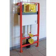 Система инсталляции для подвесного унитаза WISA 3100 Carre WC Front фото