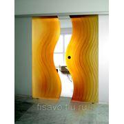 Раздвижная стеклянная дверь 2 фото