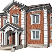 Декоративные фасадные элементы, оформление фасадов фото