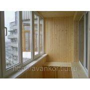 Отделка балконов под ключ фото