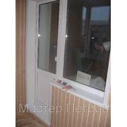Пластиковое окно, Deceuninck Фаворит (балкон) 1кам.ст/п фото